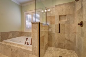 antyczny pokój kąpielowy